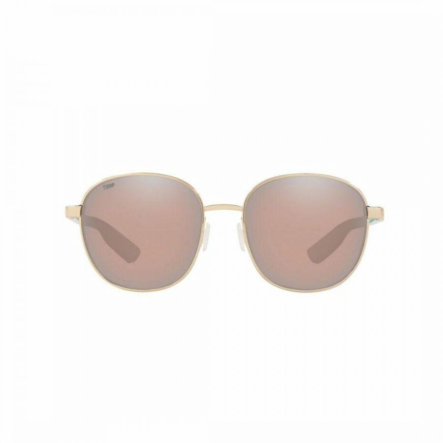 Egret 296 Shnygold 580p Womens Sunglasses Colour is Shinygold W/copsilve