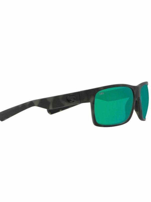 Halfmoon (tigershark) Mens Sunglasses Colour is Ocean W/greenmirror