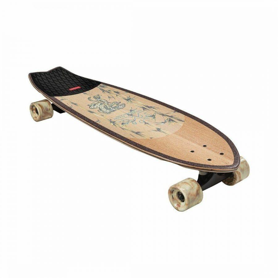 Glb-chromantic Cruiser Unisex Skate Boards Colour is White Oak Jaguar