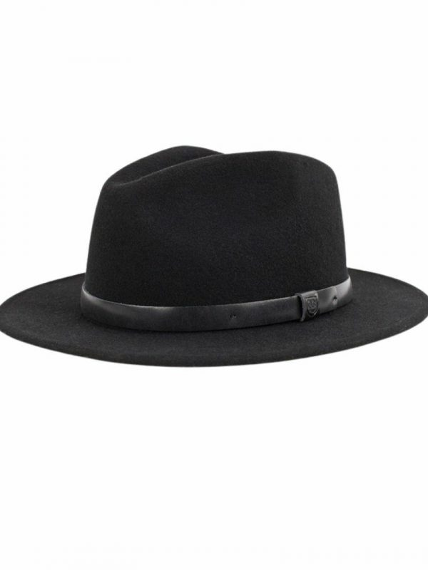 Messer Fedora Unisex Hats Caps And Beanies Colour is Blkblk