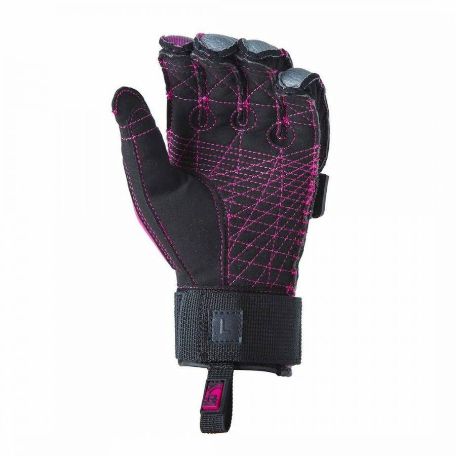 Bliss Glove Womens Water Ski Accessories Colour is Hotter Pink
