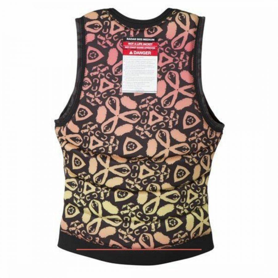 Lyric Impact Jacket Unisex Bouyancy Vests Colour is Black Coral