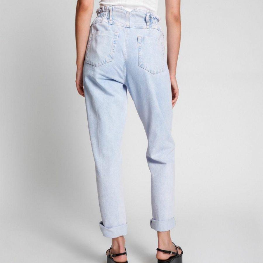 Pioneer Hw Vintage Jean Womens Pants And Jeans Colour is Purple Haze