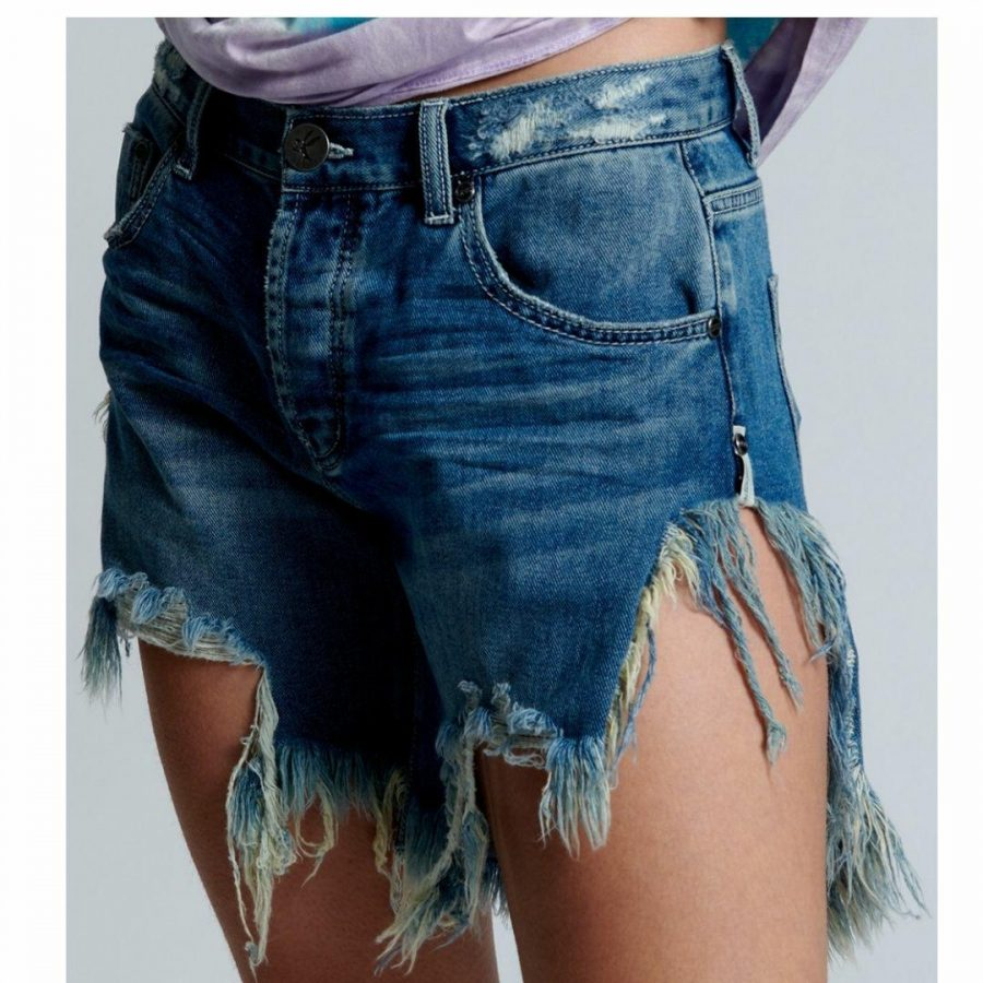 Rodeo Blue Frankies Womens Walkshorts Colour is Rodeo Blue