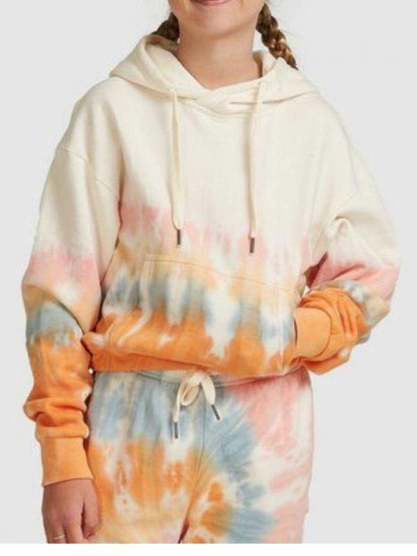 Cali Pop Hood Girls Hooded Tops And Crew Tops Colour is Multi
