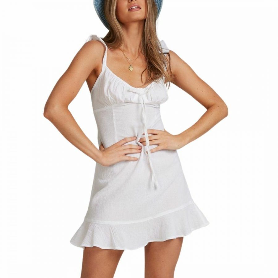 Beach Bliss Dress Womens Skirts And Dresses Colour is White