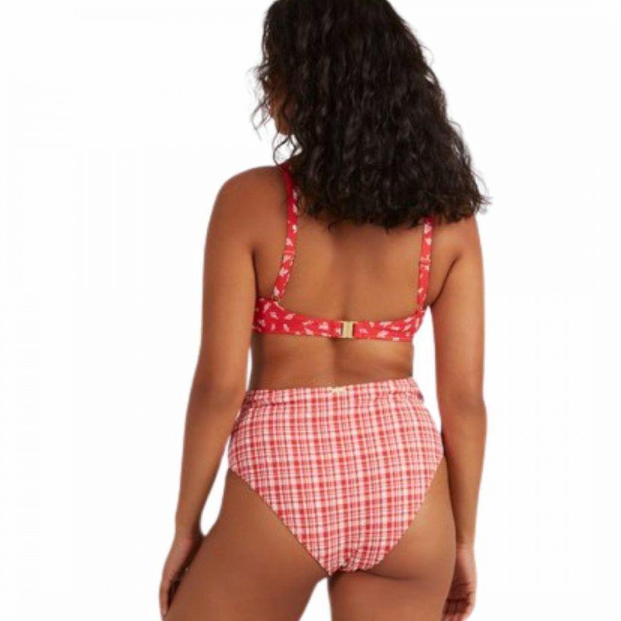 Cherry Bomb Dd Mi Womens Swim Wear Colour is Fiesta Red