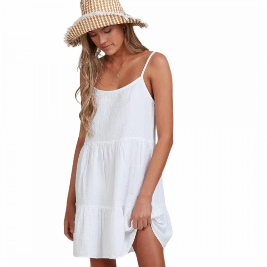 Paradise Found Dr Womens Tops Colour is White