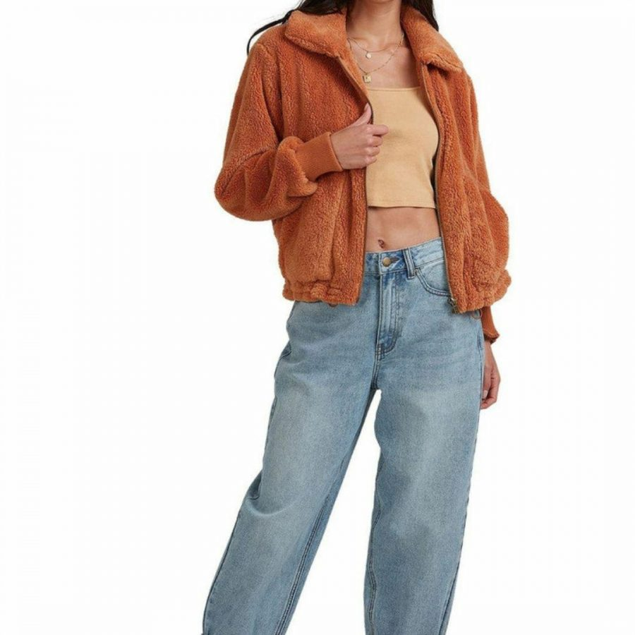 Always Cozy Jacke Womens Jackets Colour is Toffee