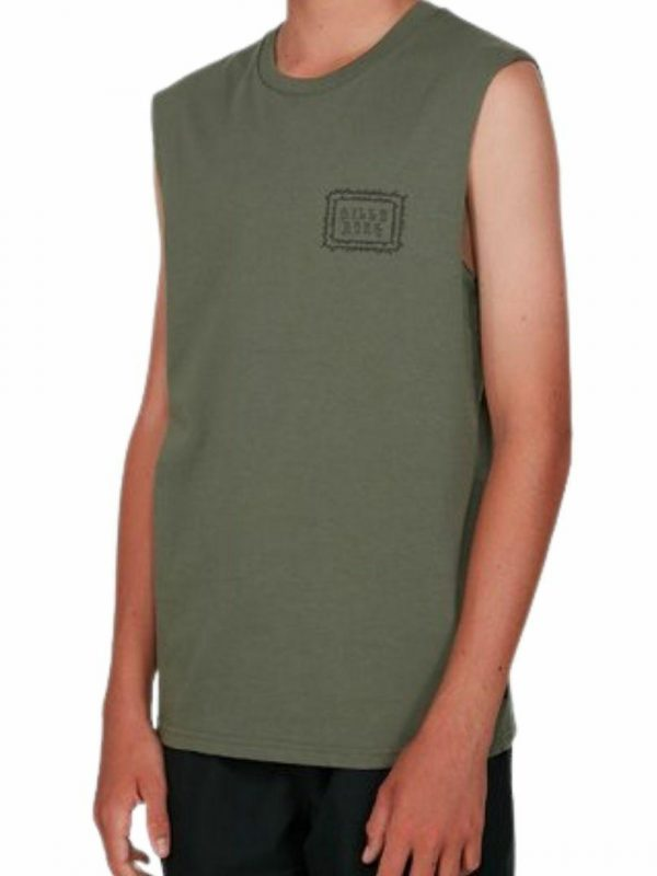 Boys Holy Smokes Boys Tanks And Singlets Colour is Pine