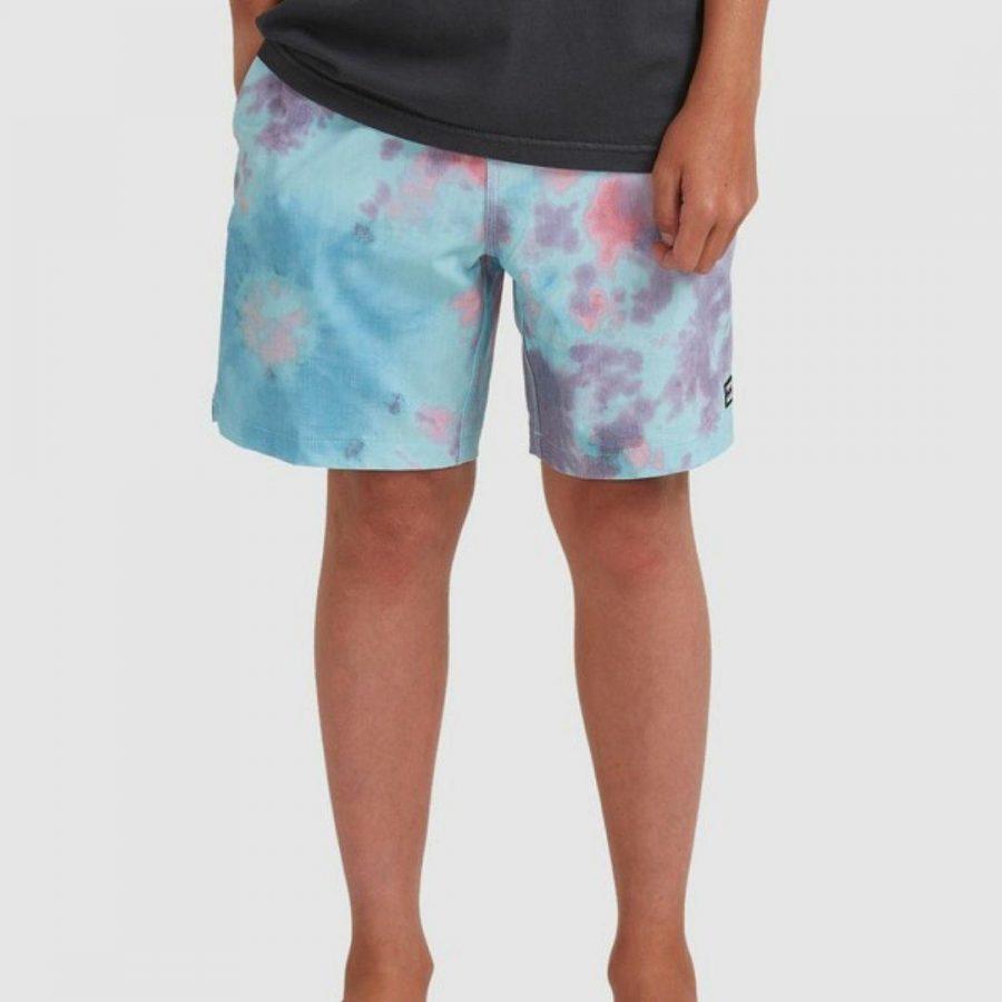 Sundays Layback Boys Boardshorts Colour is Multi