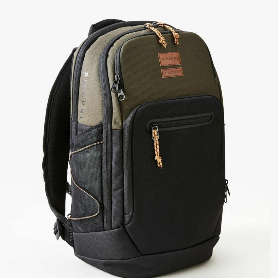 F-light Ultra 30l Combine Mens Travel Bags And Backpacks Colour is Dark Olive