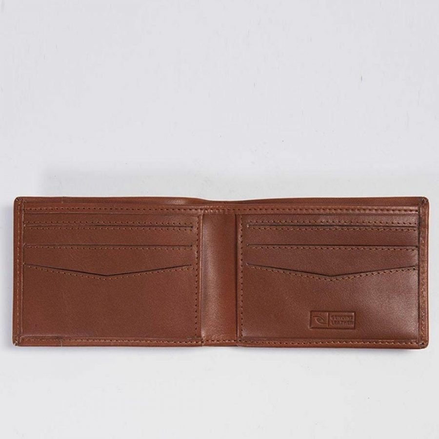 Covert Rfid Slim Mens Wallets Colour is Cognac