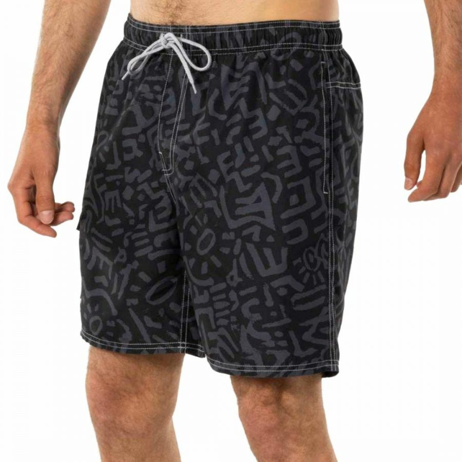 Re-issue Volley Mens Boardshorts Colour is Black