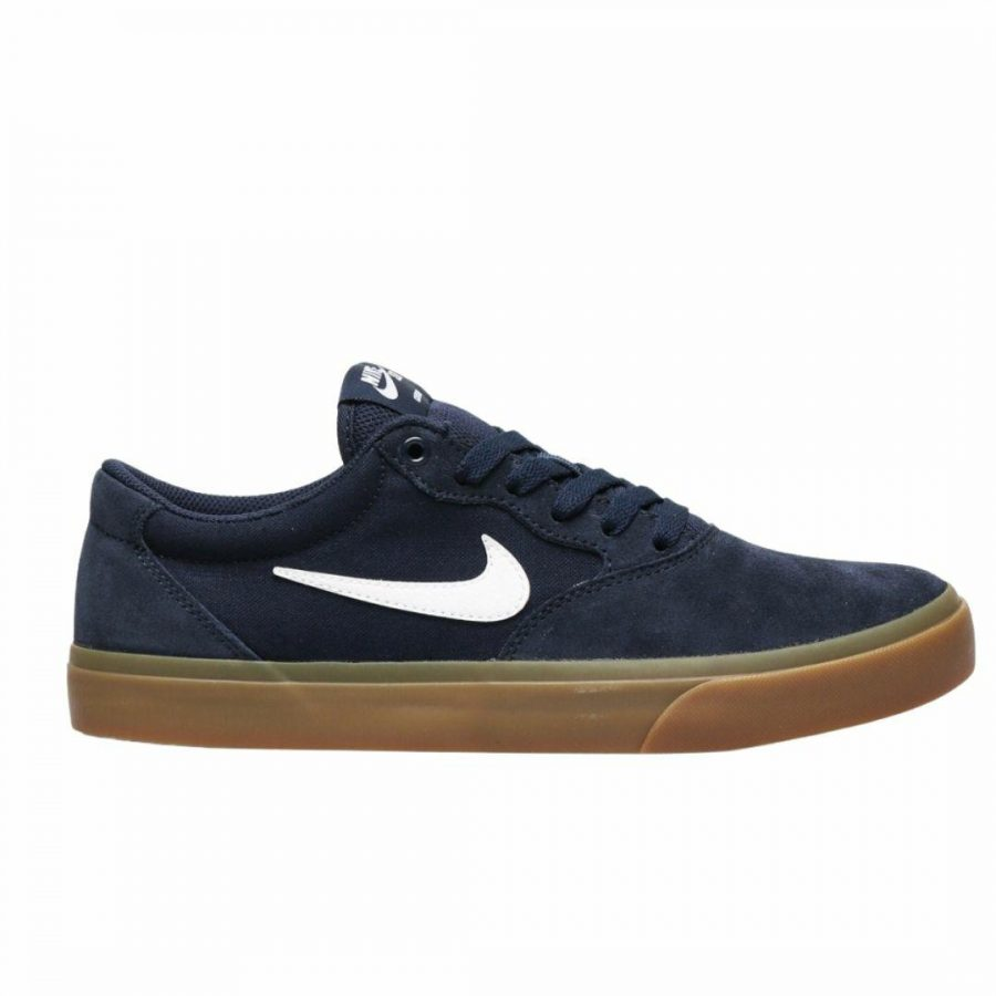 Nike Sb Chron Slr Mens Shoes And Boots Colour is Obsidian White
