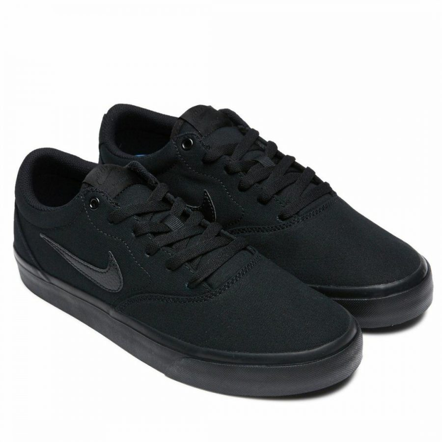 Nike Sb Charge Cnvs Unisex Shoes And Boots Colour is Blk