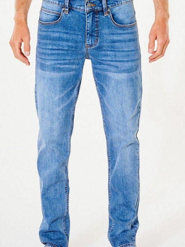 Slim Salt Blue Mens Pants And Jeans Colour is Salt Blue
