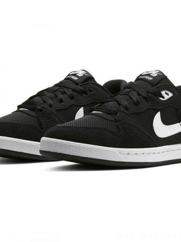 Nike Sb Alleyoop Unisex Shoes And Boots Colour is Black White