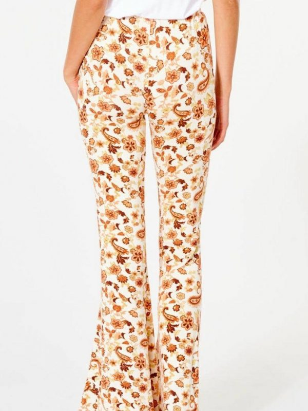 Desert Dawn Flare Womens Pants And Jeans Colour is Cream