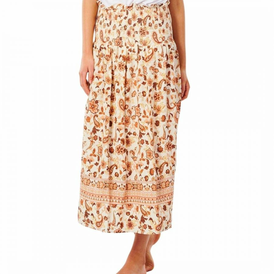 Desert Dawn Skirt Womens Skirts And Dresses Colour is Cream