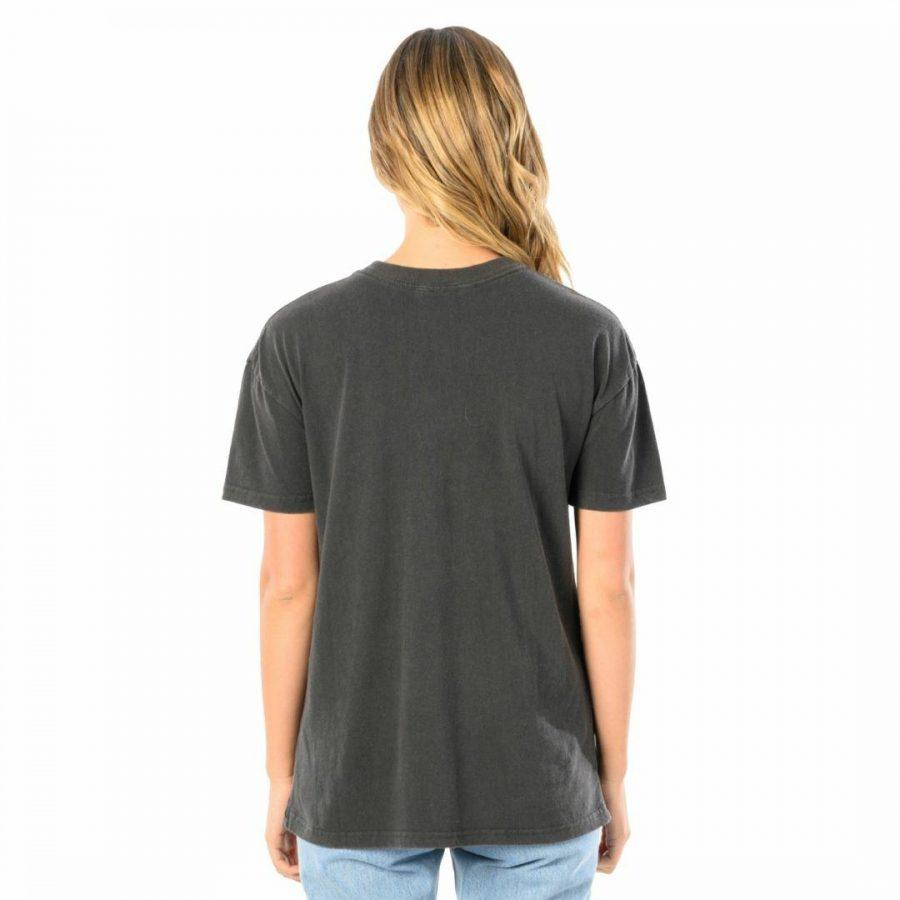 Retro Bells Tee Womens Tee Shirts Colour is Black