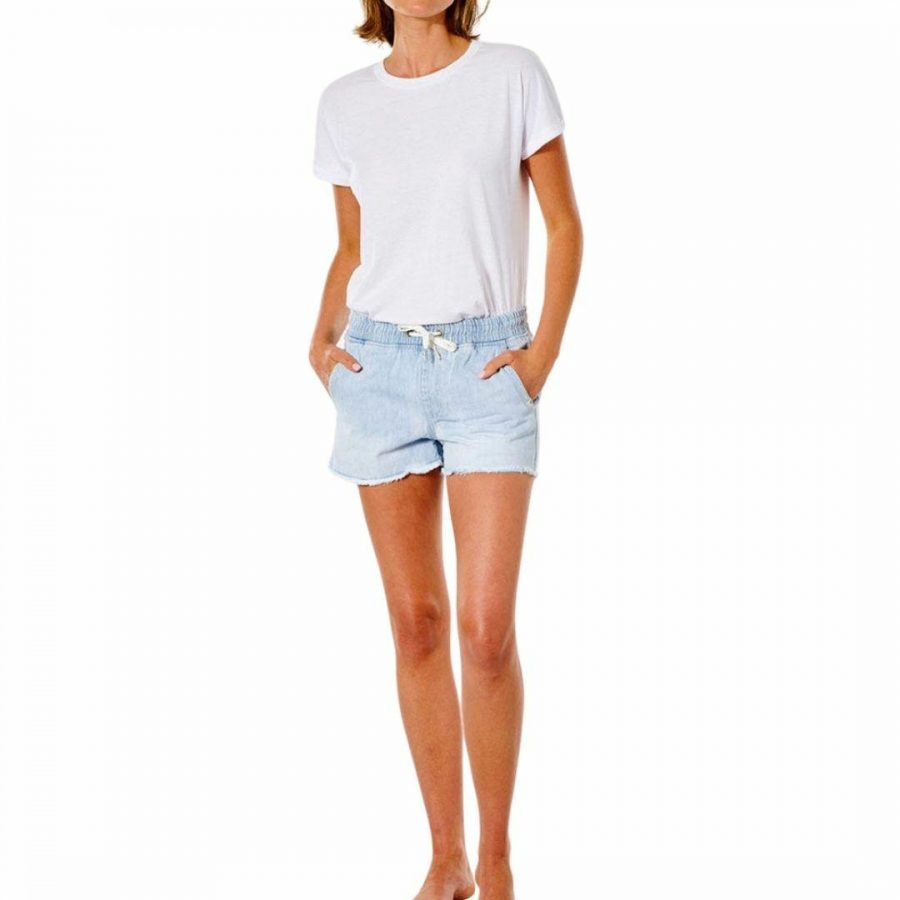 Tara Short Womens Walkshorts Colour is Blue Ice