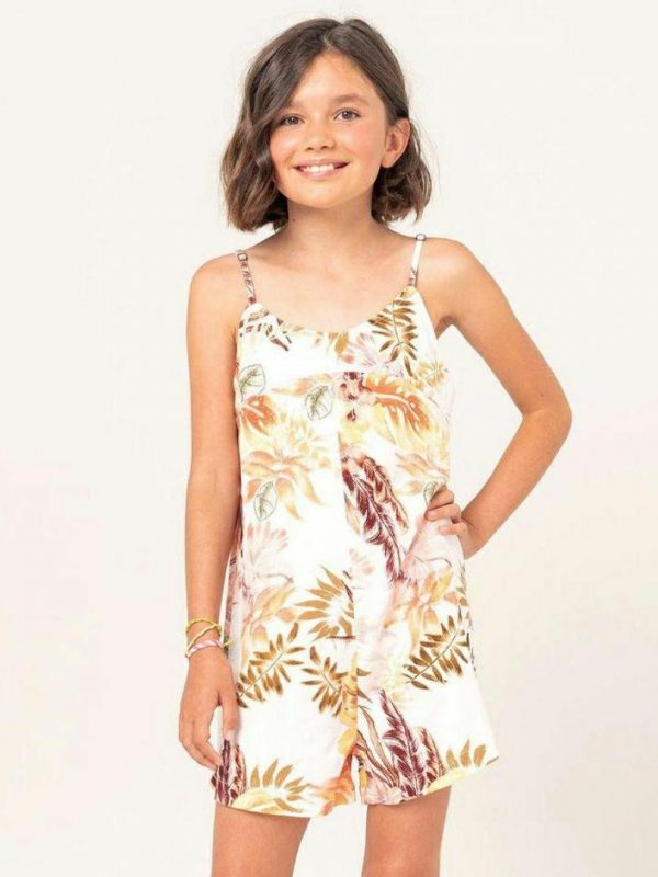 Tallows Romper - Girl Girls Skirts And Dresses Colour is White