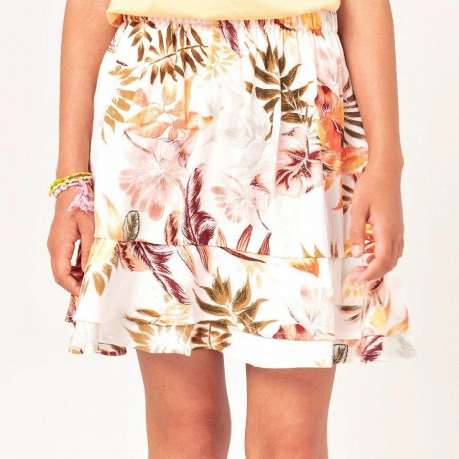 Tallows Skirt - Girl Girls Skirts And Dresses Colour is White