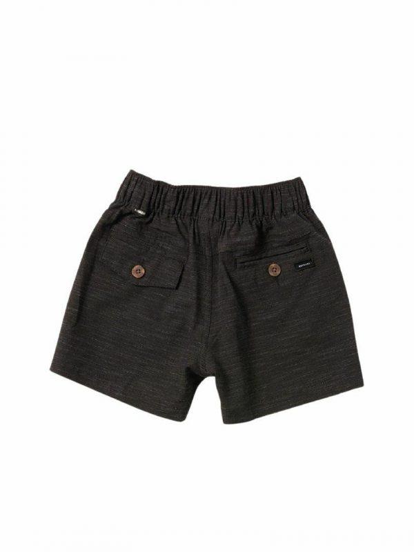 Boardwalk Jackson -boy Kids Toddlers And Groms Walkshorts Colour is Black