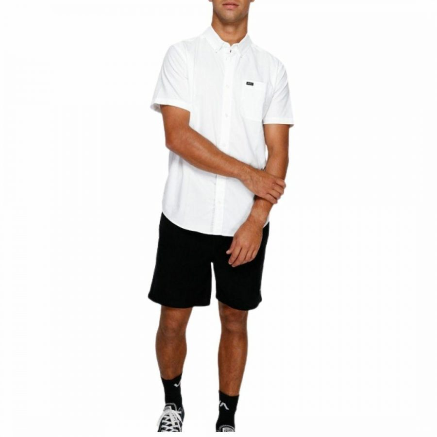 Thatll Do Stretch Mens Tops Colour is White