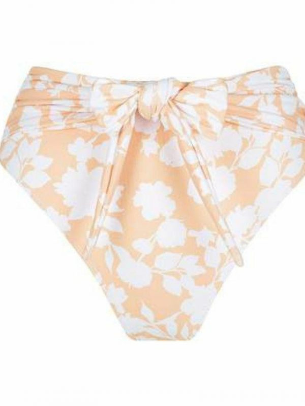 Effie Wrap Brief Womens Swim Wear Colour is Bloom