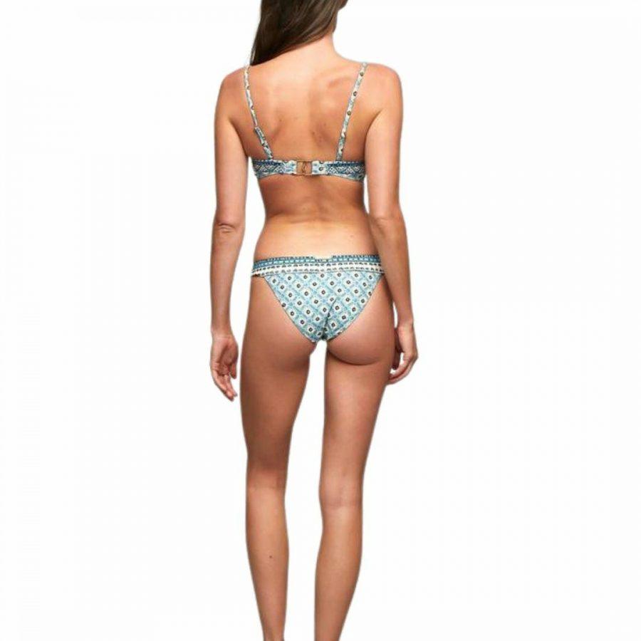 Belize Tiger Pant Womens Swim Wear Colour is Sky Blue