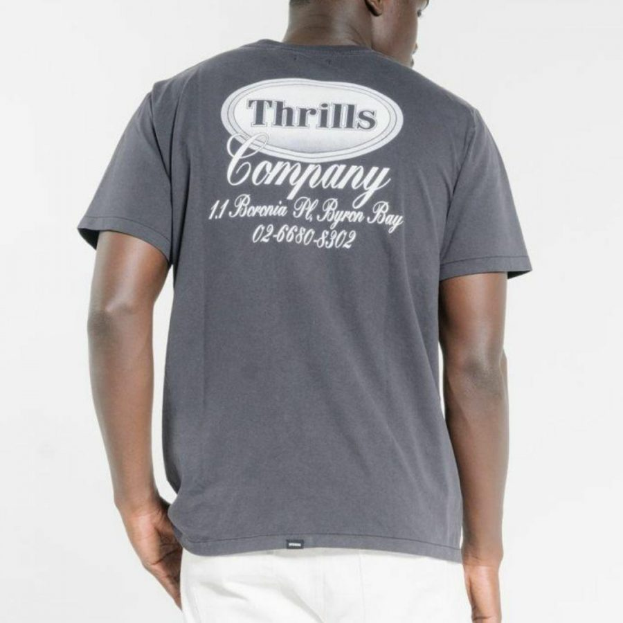 Troubled Paradise Tee Mens Tops Colour is Dark Navy