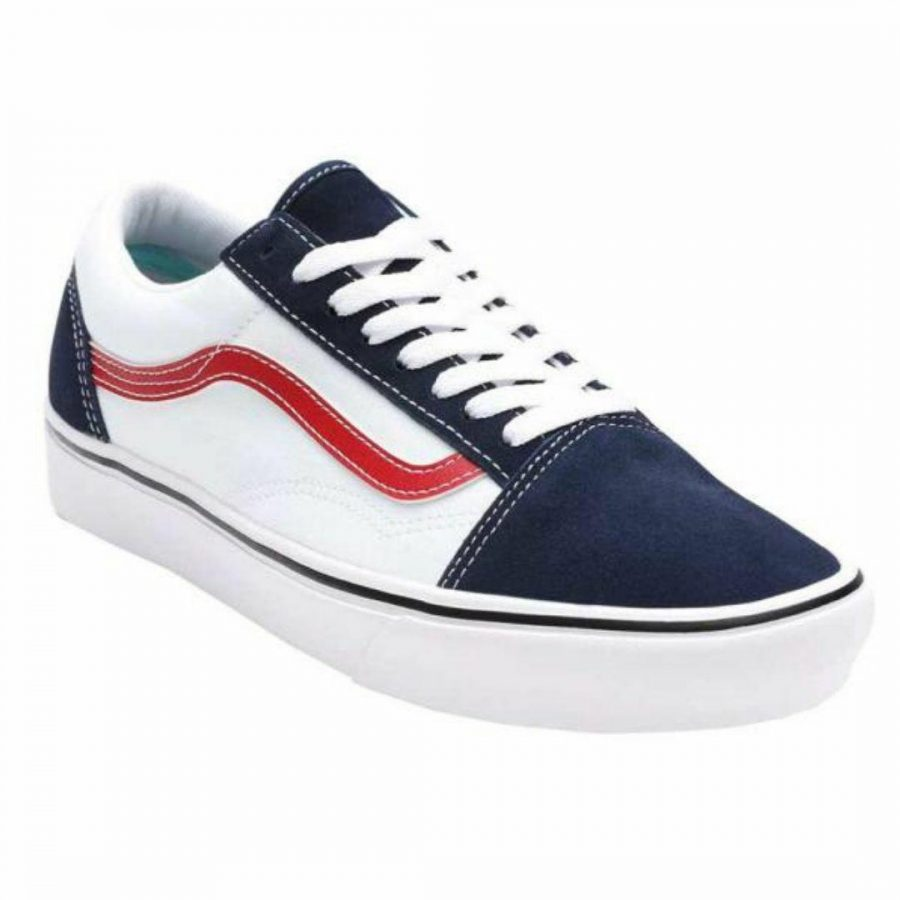 Comfycush Old Skool Unisex Skirts And Dresses Colour is Blue White