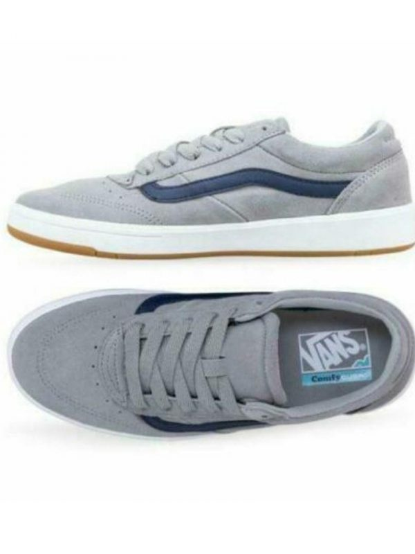 Cruze Comfy Cush Unisex Shoes And Boots Colour is Grey/nvy