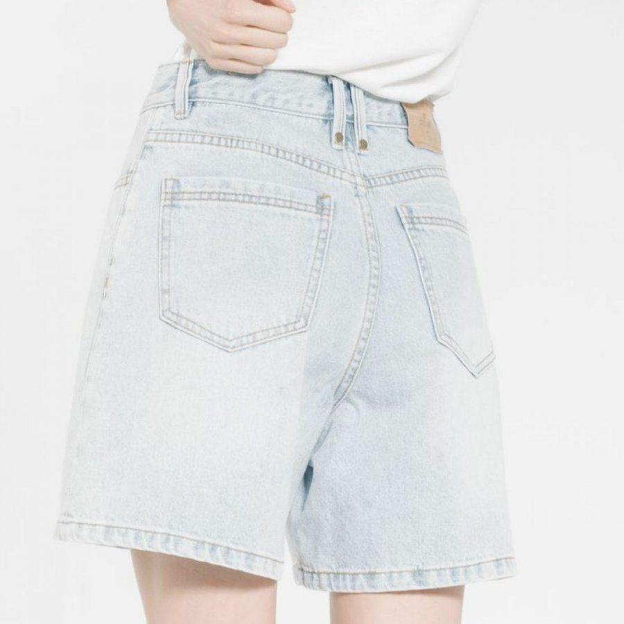 Koko Short Womens Walkshorts Colour is Worn Blue