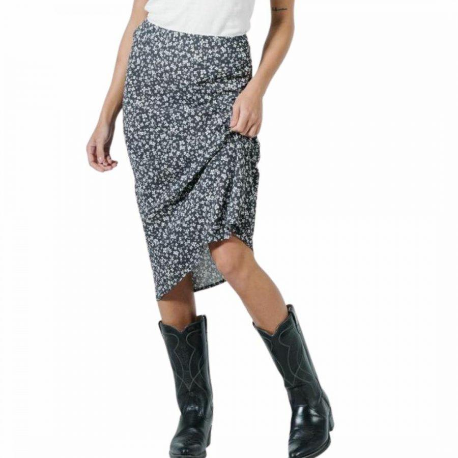 Acacia Bias Skirt Womens Skirts And Dresses Colour is Black