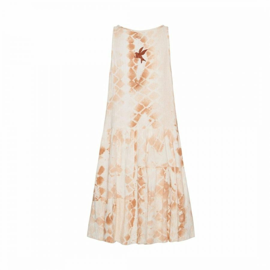 Soft Snake Gypsy Dress Womens Skirts And Dresses Colour is Soft Snake
