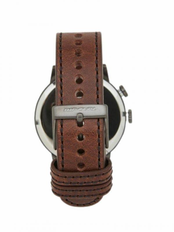 Drake Leather Gunmetal Mens Watches Colour is Gunmetal