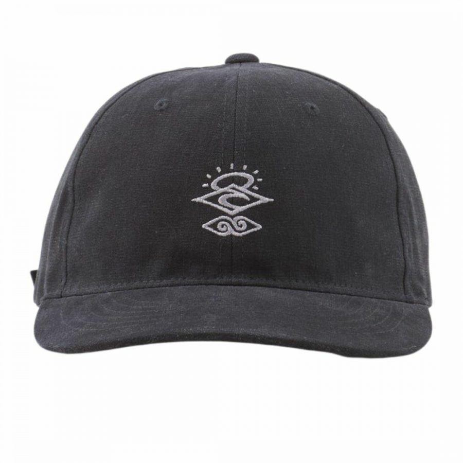 Searchers Adjust Cap Mens Hats Caps And Beanies Colour is Washed Black