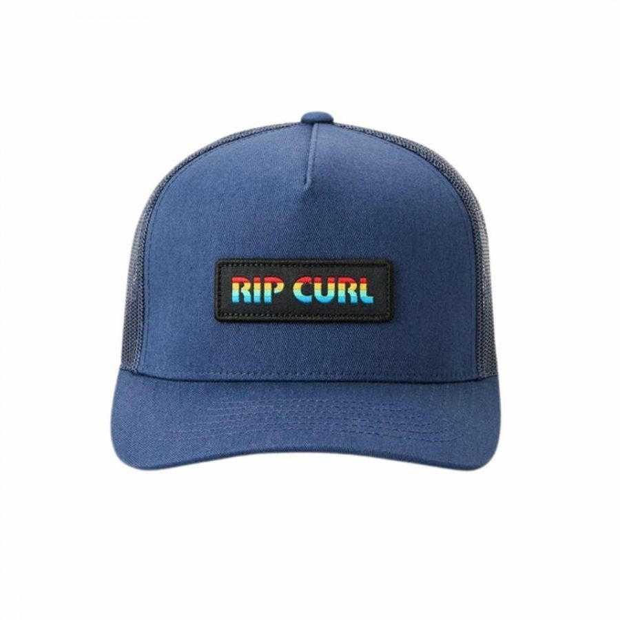 Icons Trucker Mens Hats Caps And Beanies Colour is Navy
