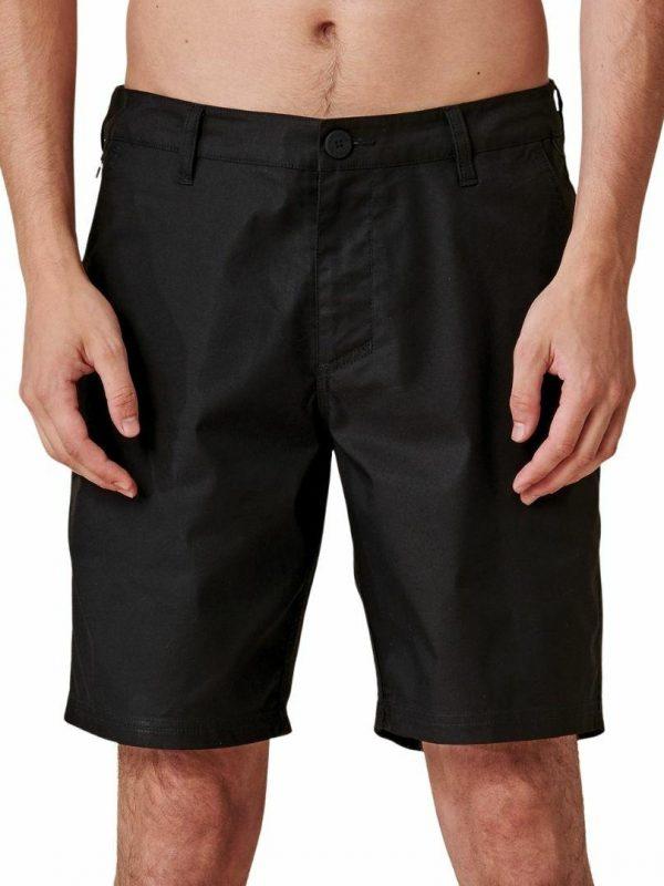 Any Wear Short Mens Walkshorts Colour is Black