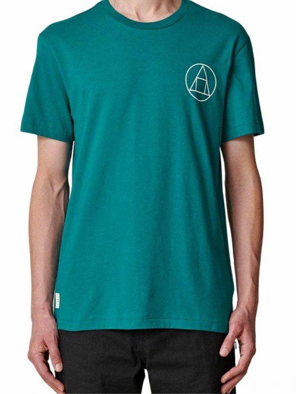 Infinity Stack Tee Mens Tops Colour is Deep Lake