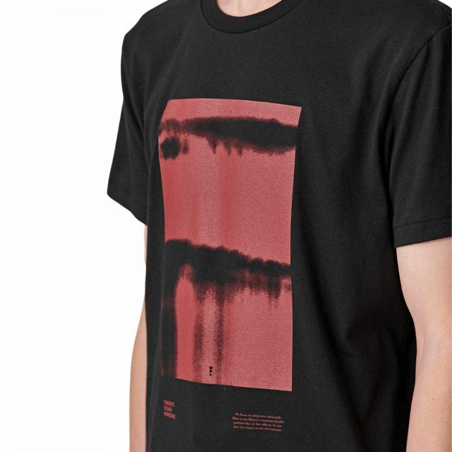 Barrels Tee Mens Tops Colour is Black