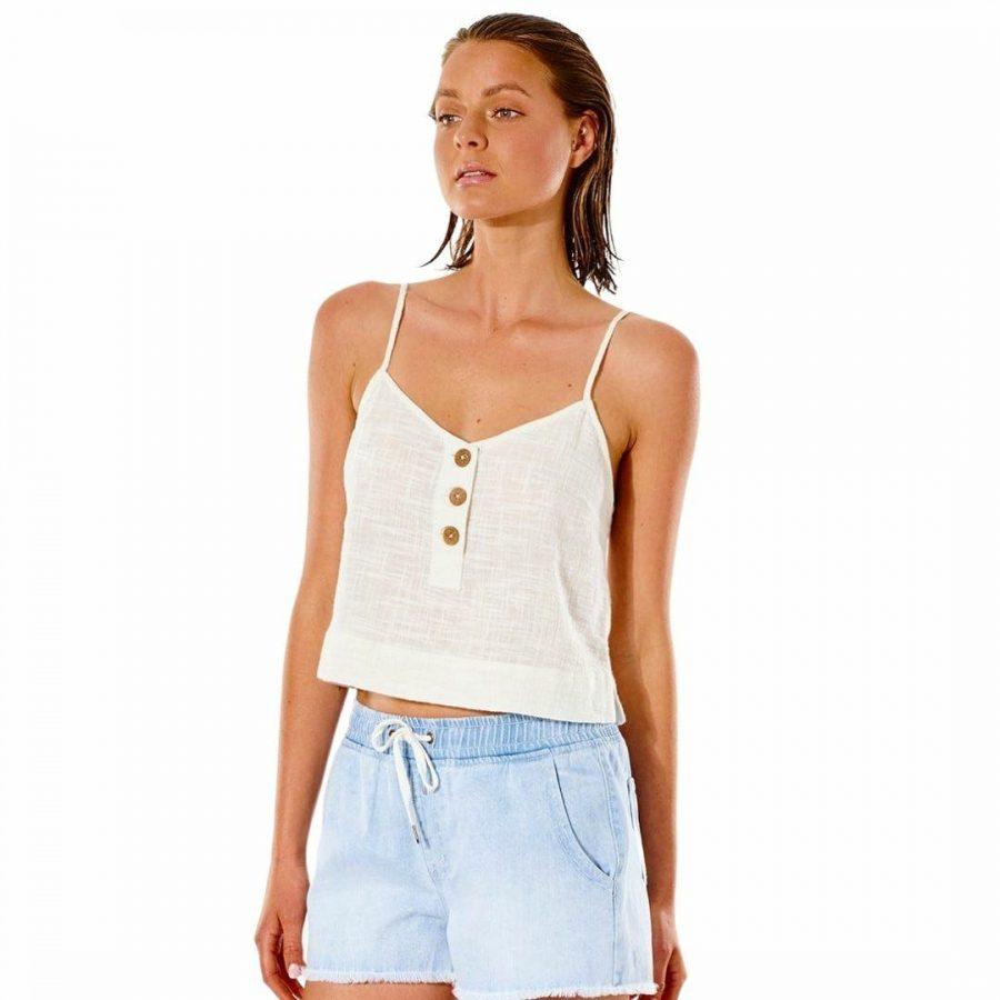 Classic Surf Cami Womens Tee Shirts Colour is Bone