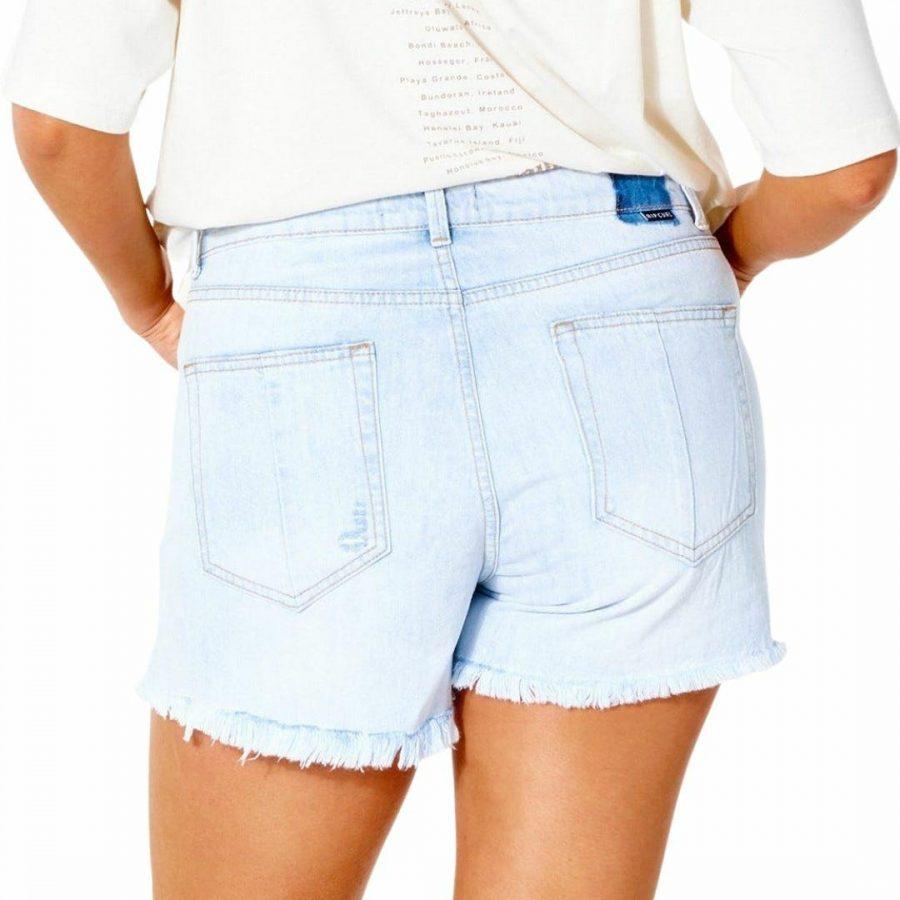 Sophie Denim Short Ii Womens Walkshorts Colour is Light Blue
