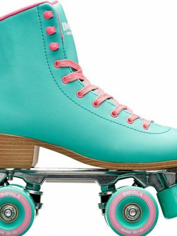 Aqua Quad Skate Womens Roller Skates Colour is Aqua