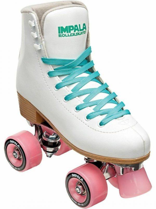 White Quad Skate Womens Roller Skates Colour is White