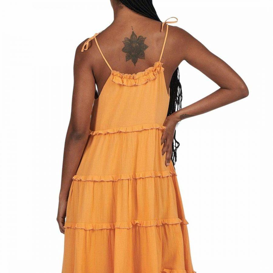 Senorita Maxi Dress Womens Skirts And Dresses Colour is Apricot