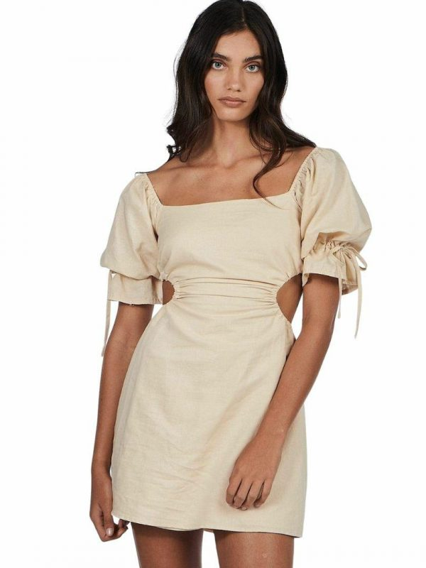 Maple Dress Womens Skirts And Dresses Colour is Sand